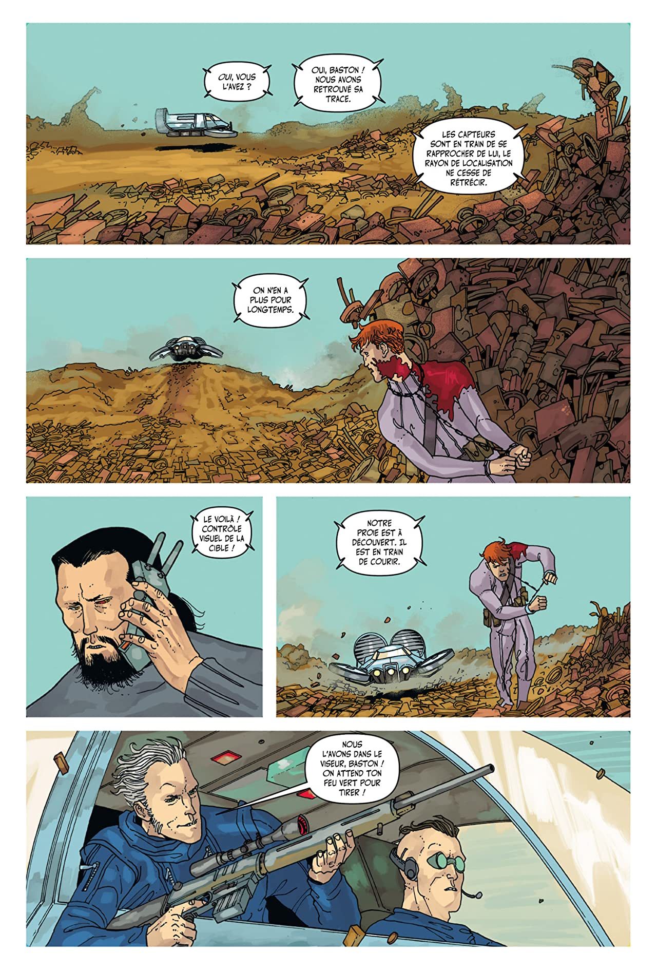 Great Pacific: Chapitre 17
