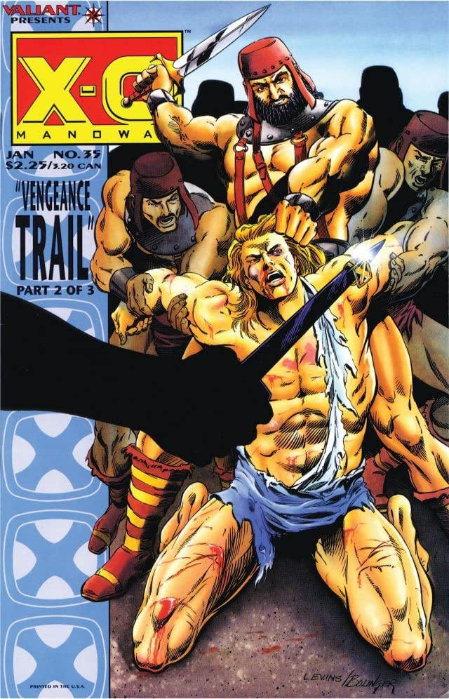 X-O Manowar (1992-1996) #35