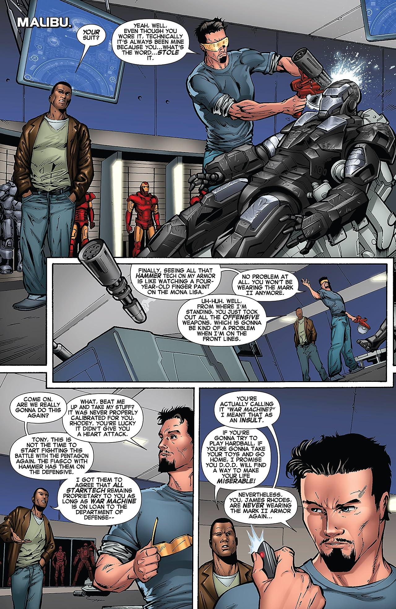 Marvel's Iron Man 3 Prelude No.1 (sur 2)