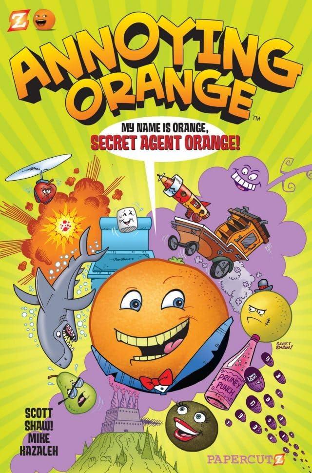 Annoying Orange Vol. 1: Secret Agent Orange Preview