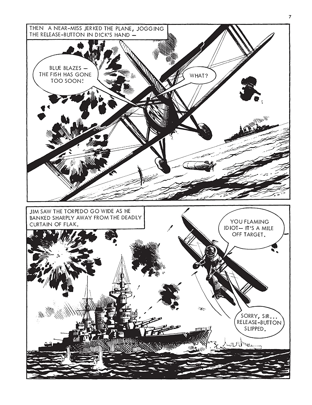 Commando #4900: Sailor With Wings