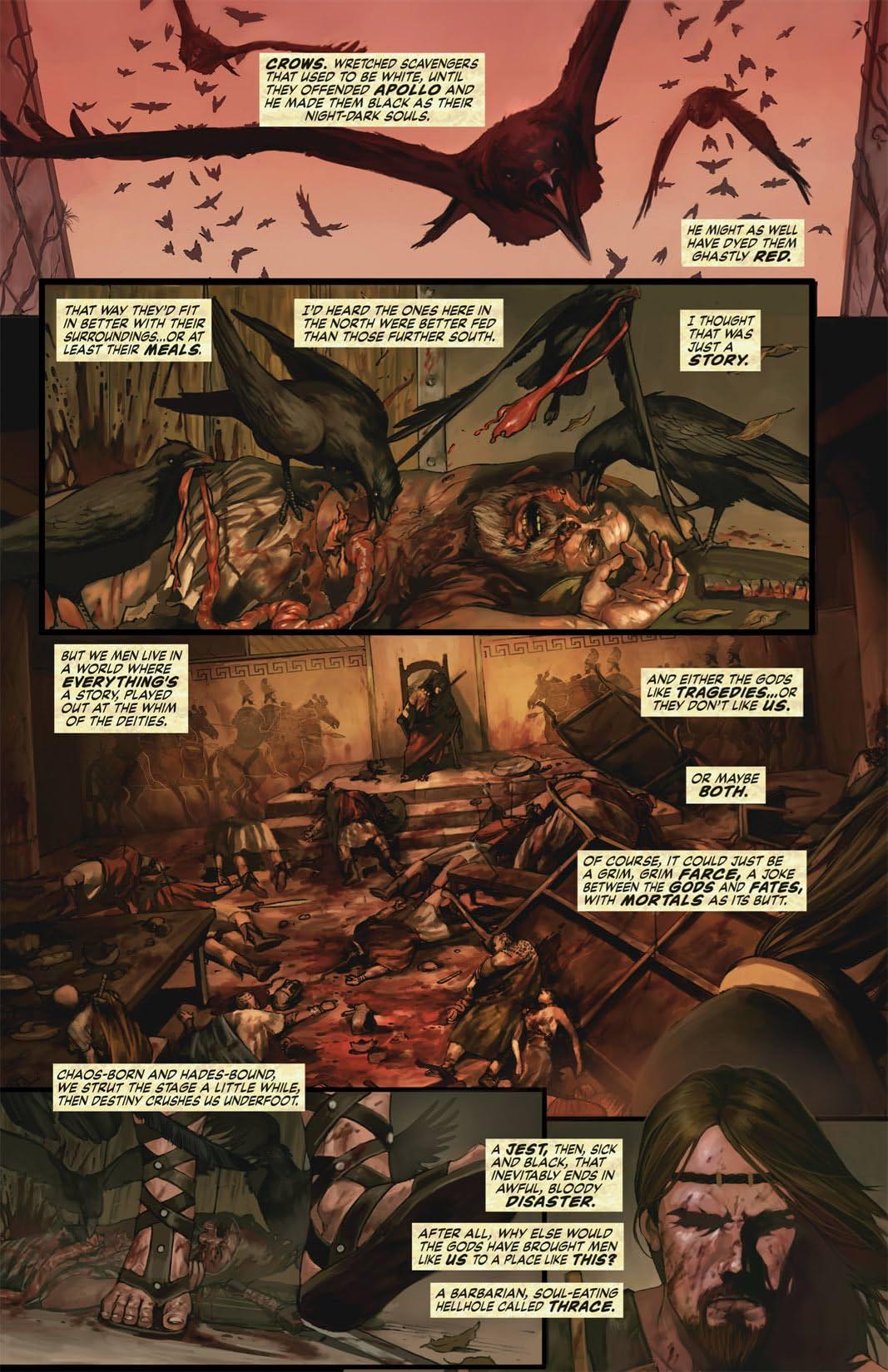 Hercules: The Thracian Wars #1 (of 5)