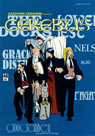 Cerebus Vol. 2 #15: High Society