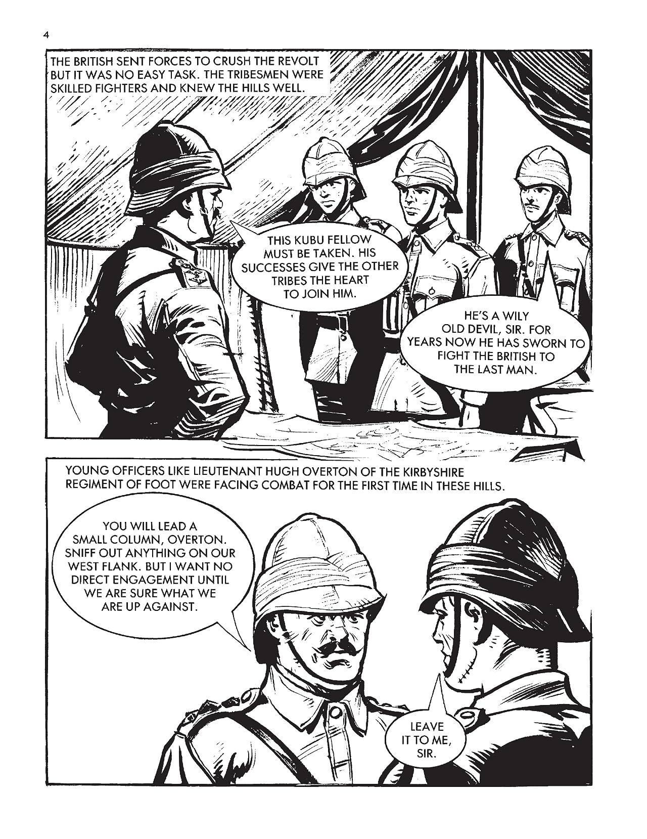 Commando #4902: Branded A Coward