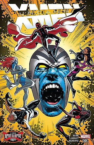 Uncanny X-Men (2016-) #6