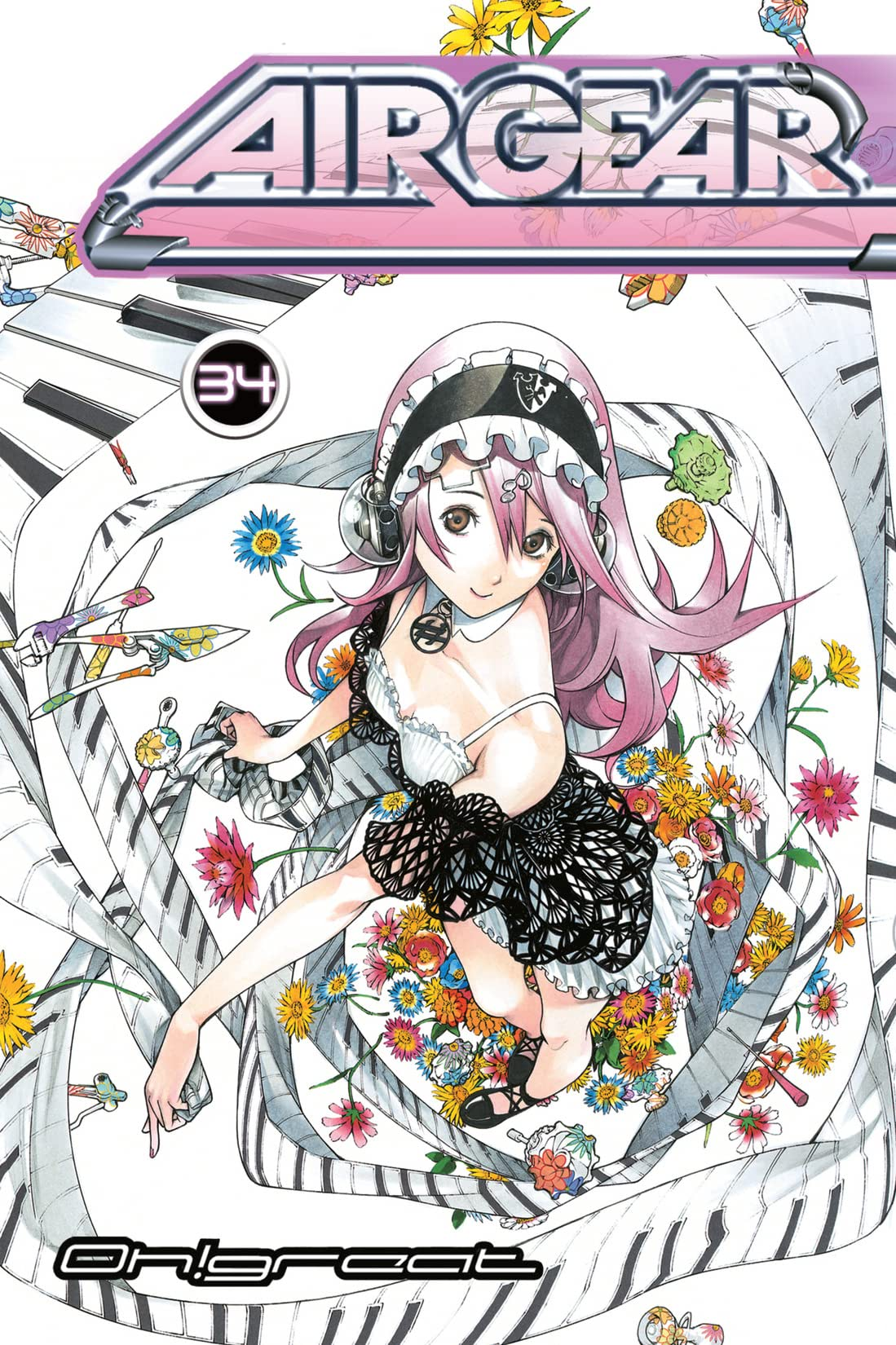 Air Gear Vol. 34