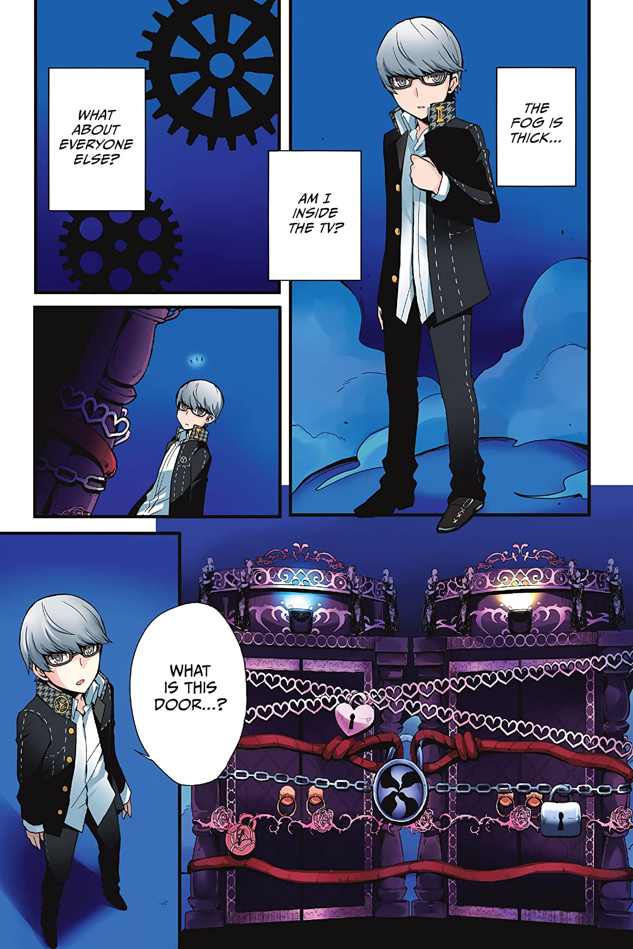 Persona Q: Shadow of the Labyrinth Side: P4 Vol. 1