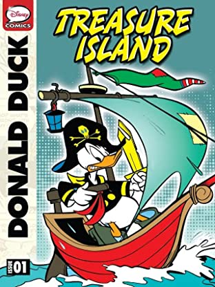Donald Duck and the Treasure Island #1