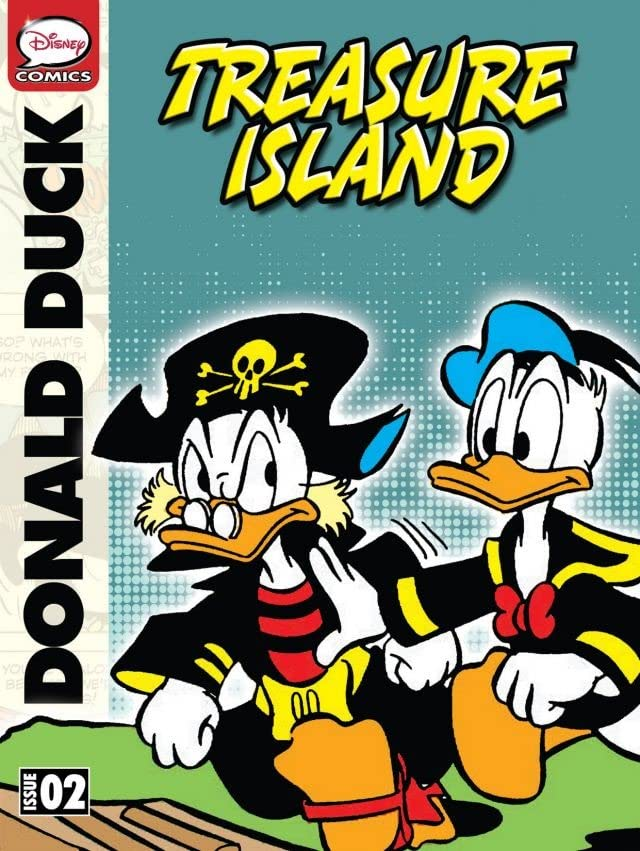 Donald Duck and the Treasure Island #2