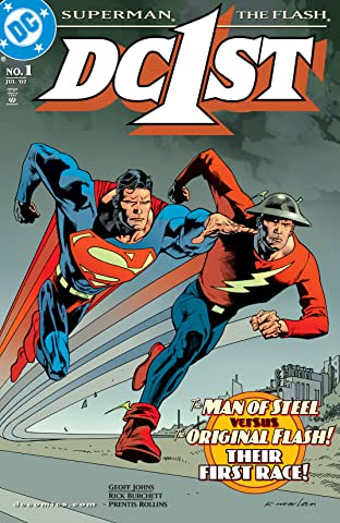 DC First: Flash/Superman (2002) #1