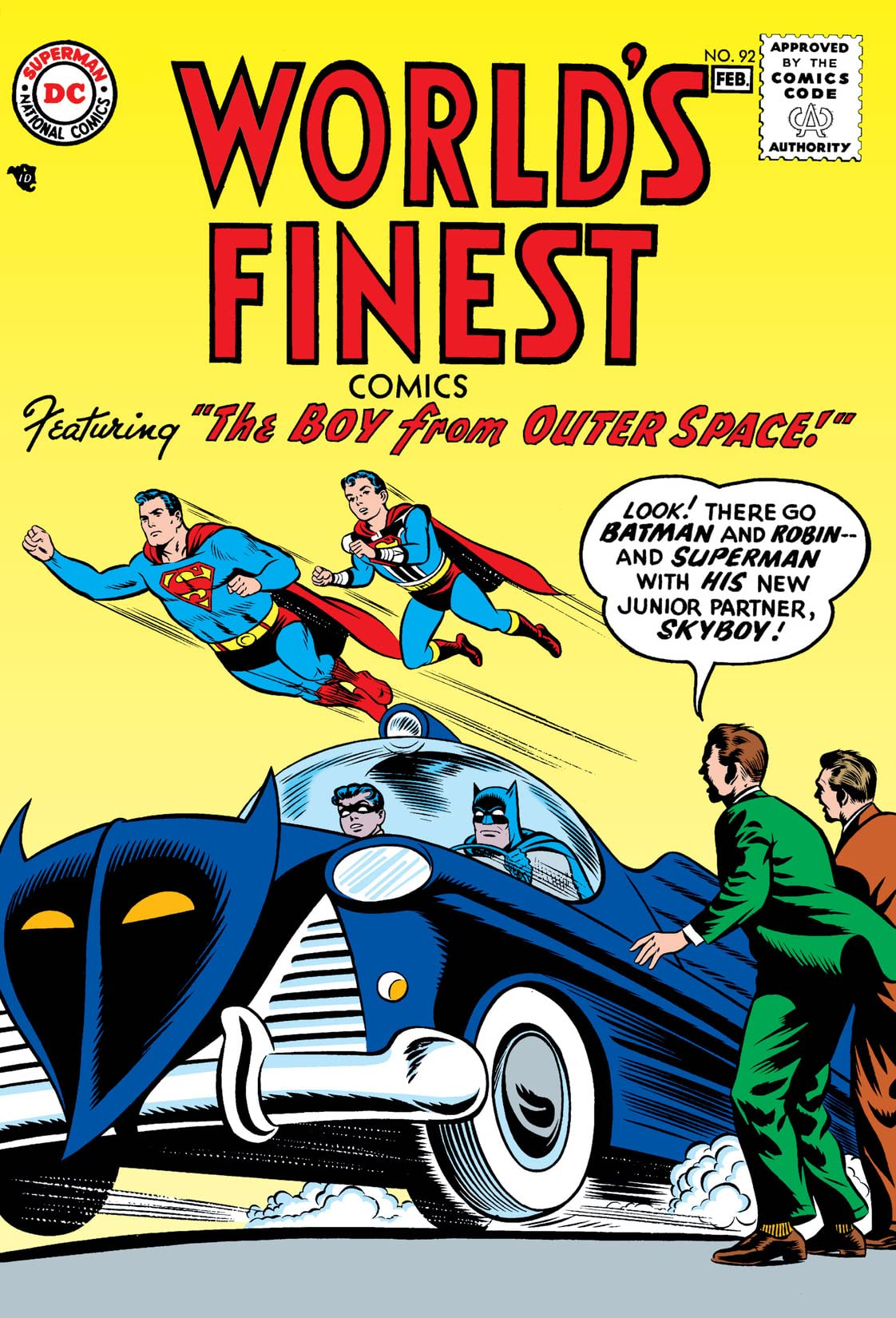 World's Finest Comics (1941-1986) #92