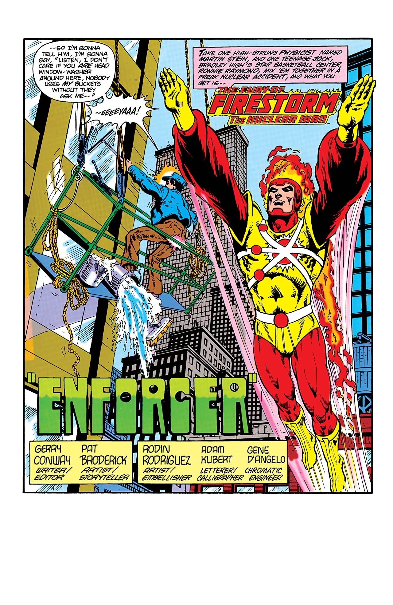 The Fury of Firestorm (1982-1990) #14