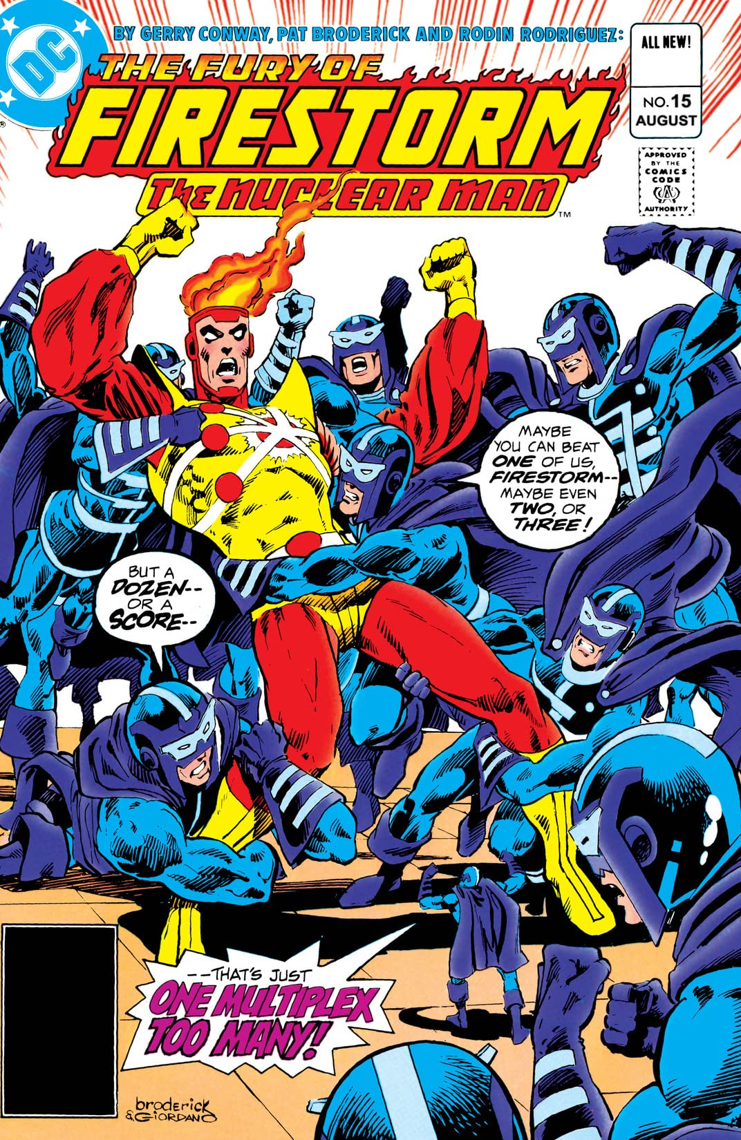 The Fury of Firestorm (1982-1990) #15