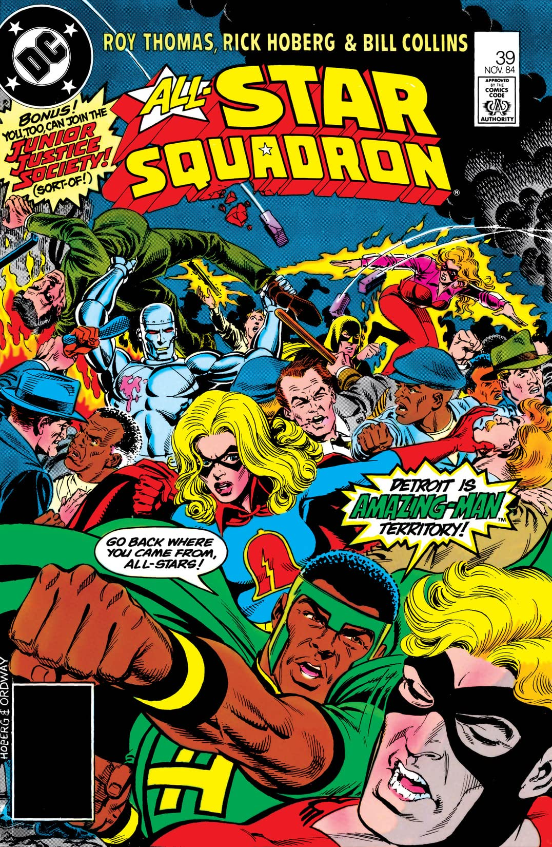 All-Star Squadron (1981-1987) #39