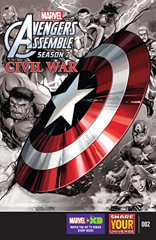 Marvel Universe Avengers Assemble: Civil War (2016) #2