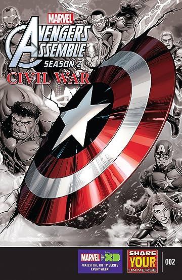Marvel Universe Avengers Assemble: Civil War (2016) #2