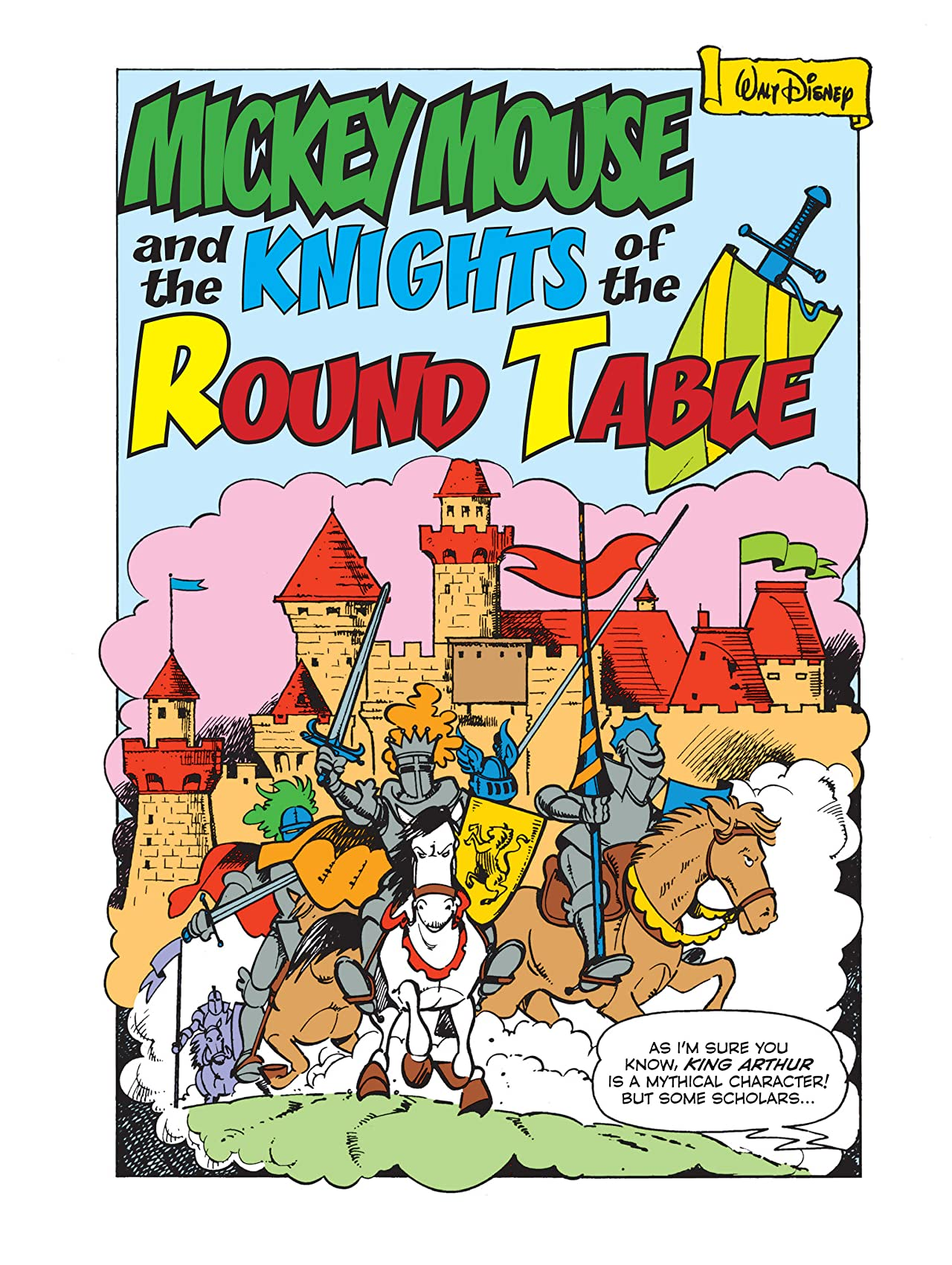Mickey Mouse and the Knights of the Round Table