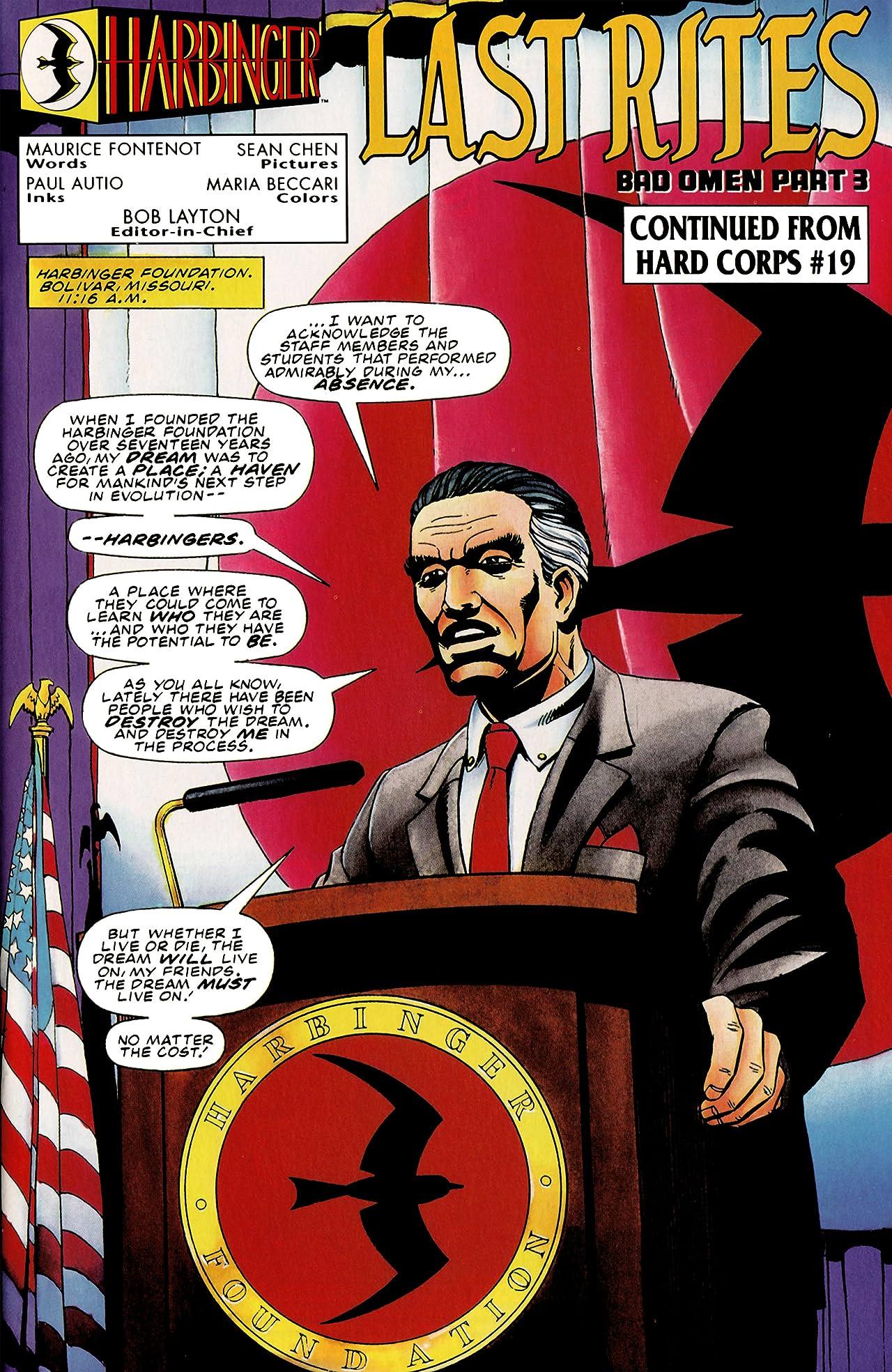 Harbinger (1992-1995) #31