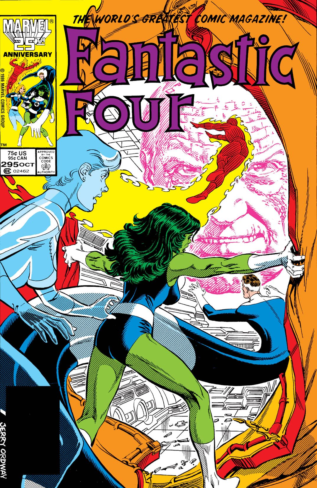 Fantastic Four (1961-1998) #295