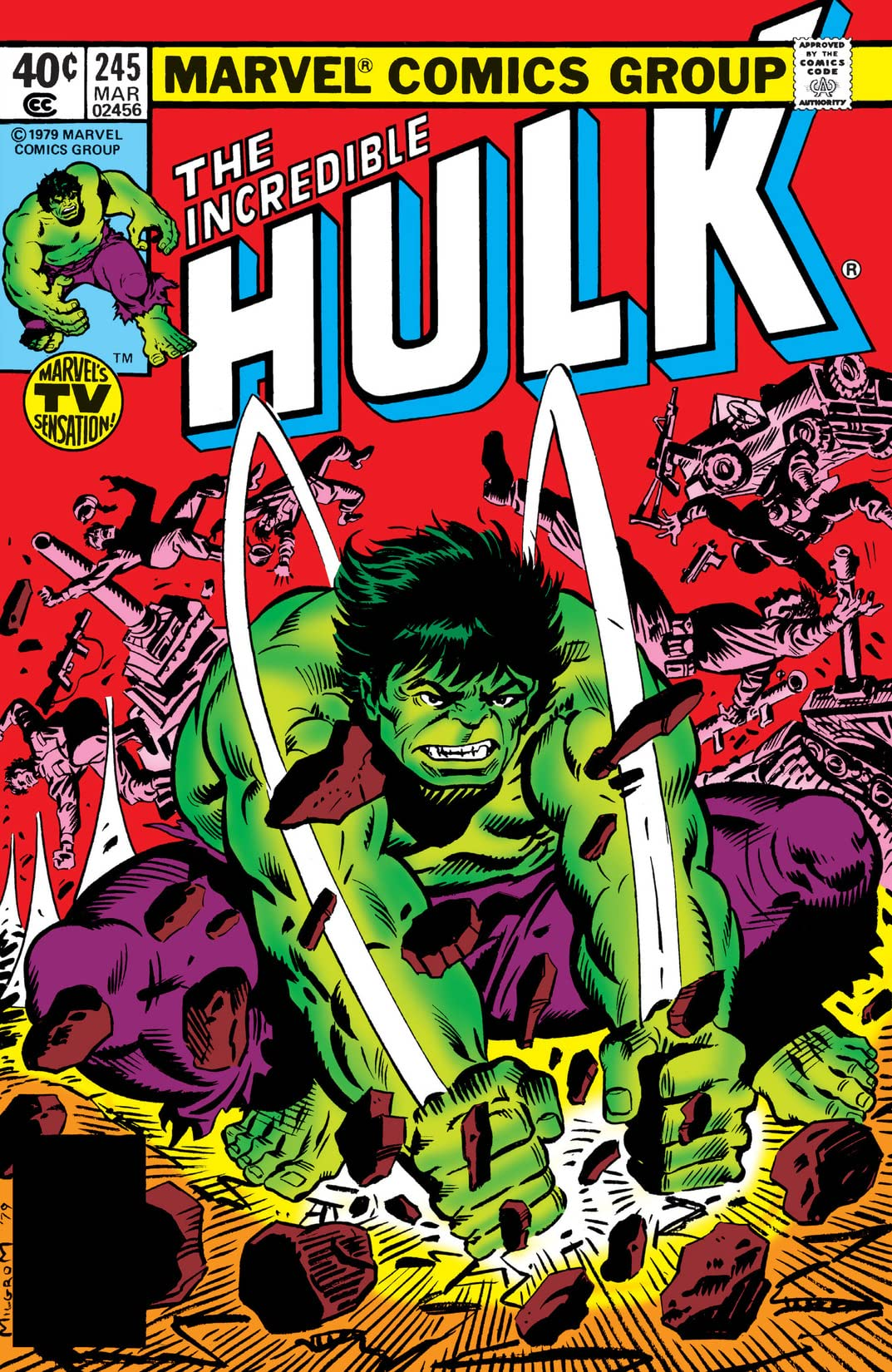 Incredible Hulk (1962-1999) #245