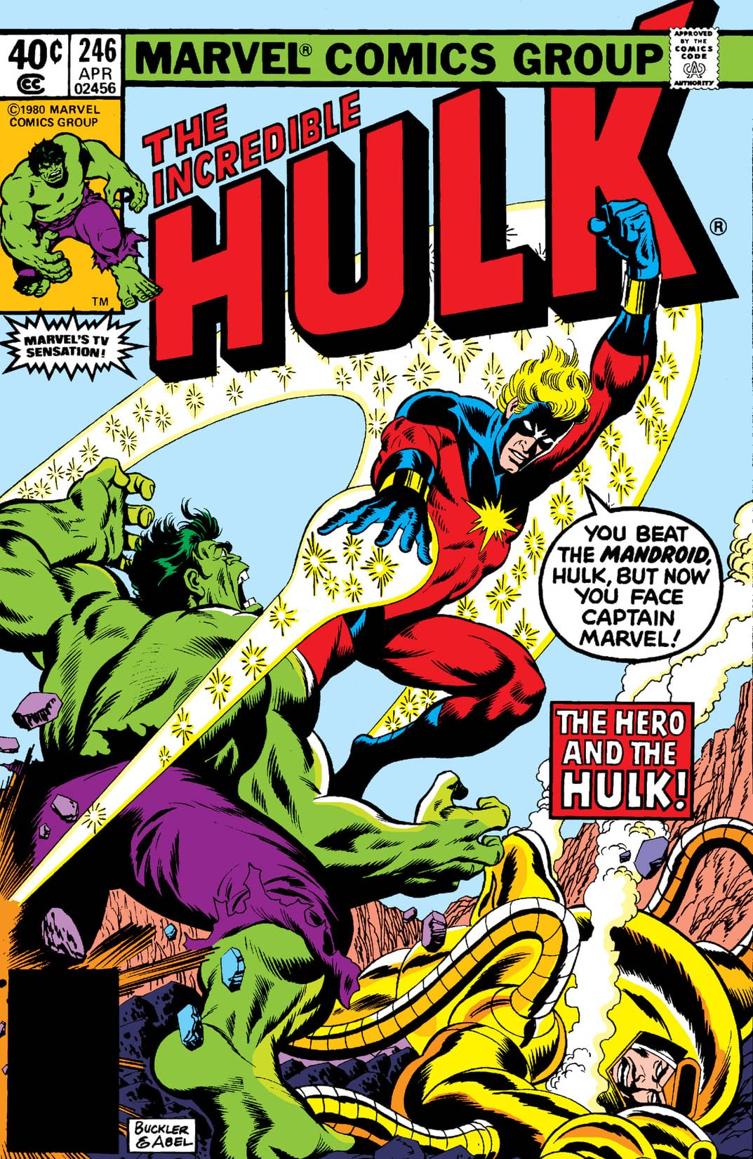 Incredible Hulk (1962-1999) #246