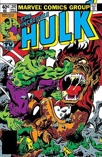 Incredible Hulk (1962-1999) #247
