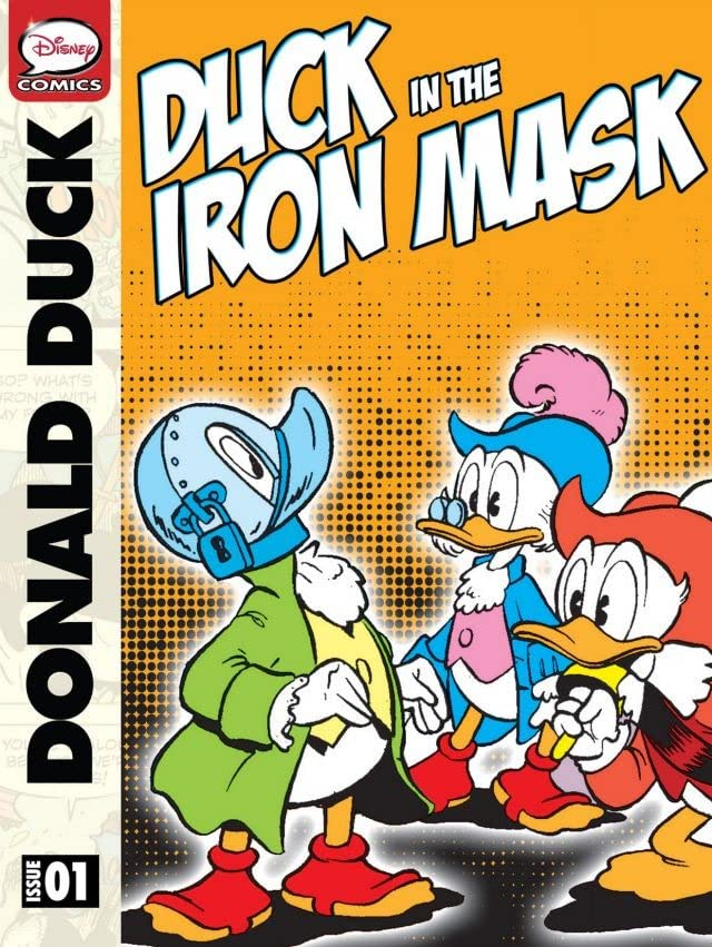 Donald Duck in the Duck in the Iron Mask