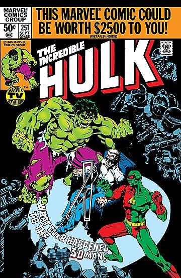 Incredible Hulk (1962-1999) #251