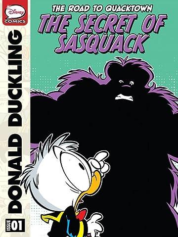 The Road to Quacktown #1: The Secret of Sasquack