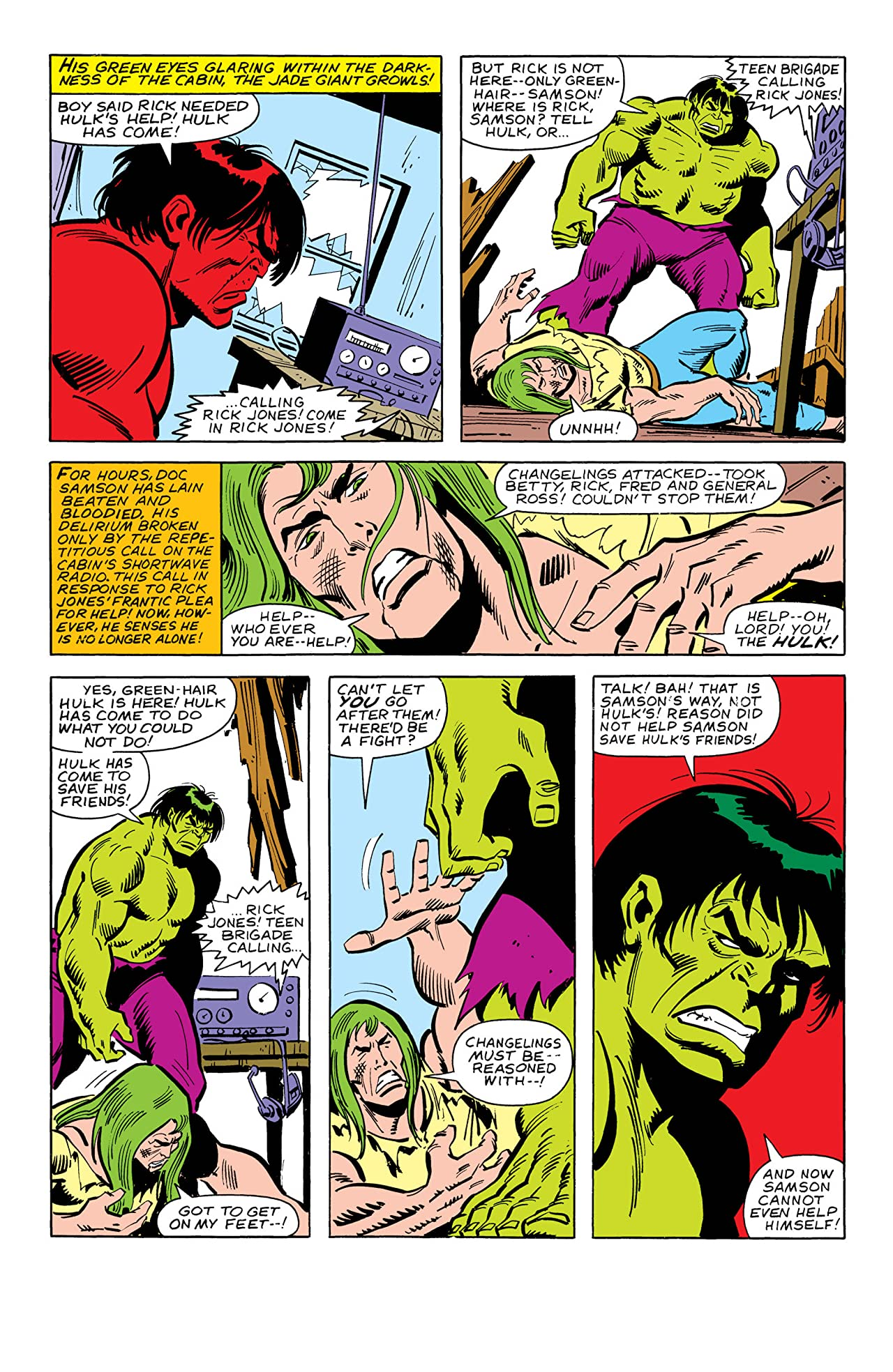 Incredible Hulk (1962-1999) #252