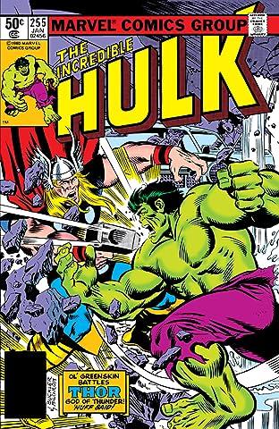 Incredible Hulk (1962-1999) #255