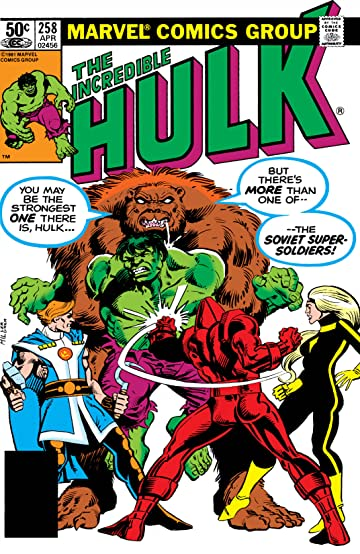 Incredible Hulk (1962-1999) #258