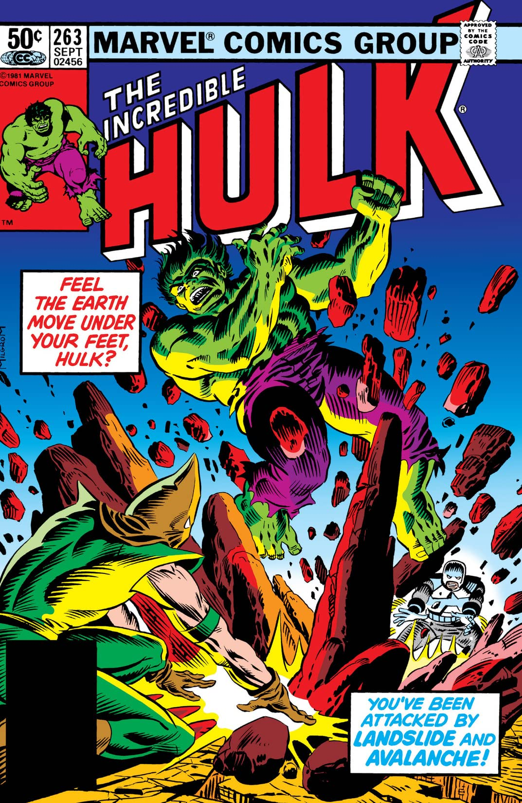 Incredible Hulk (1962-1999) #263