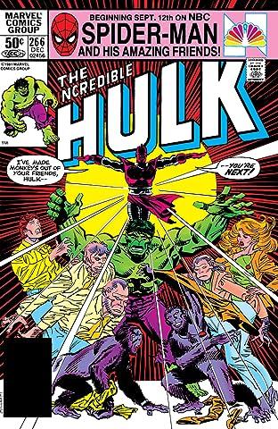 Incredible Hulk (1962-1999) No.266
