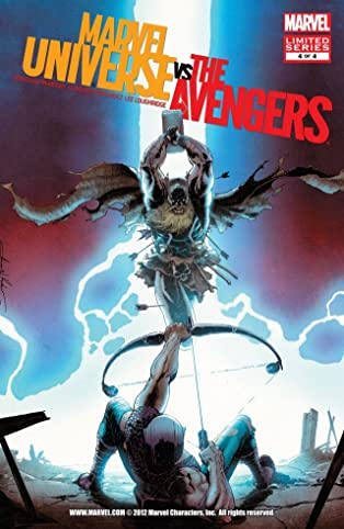 Marvel Universe vs. Avengers #4 (of 4)