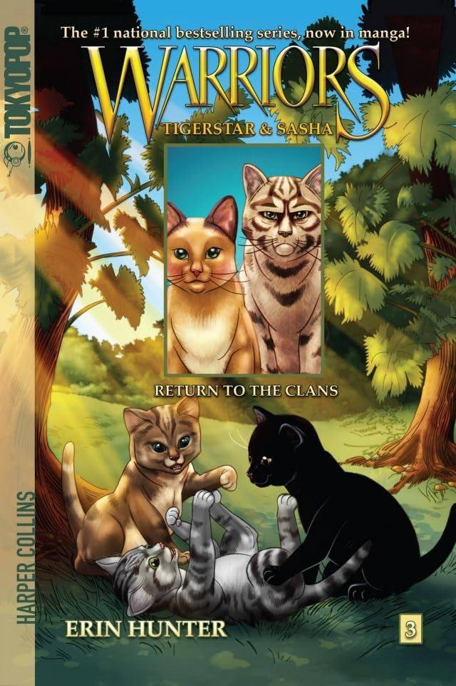 Warriors: Tigerstar & Sasha Vol. 3: Return to the Clans