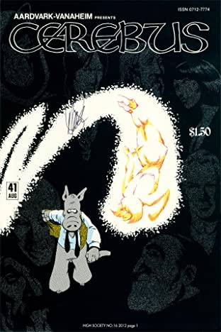 Cerebus Vol. 2 #16: High Society