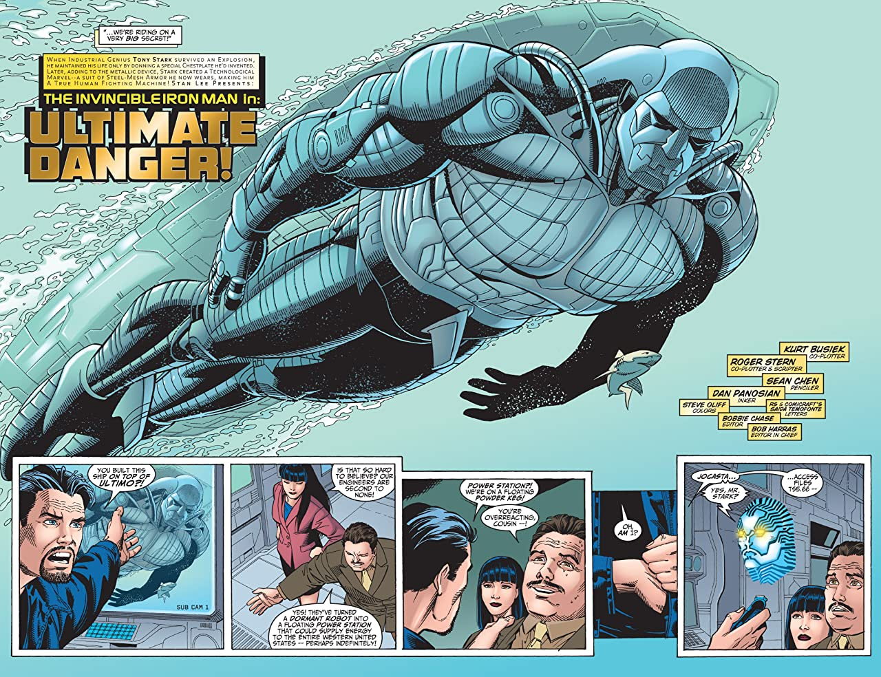 Iron Man (1998-2004) #23