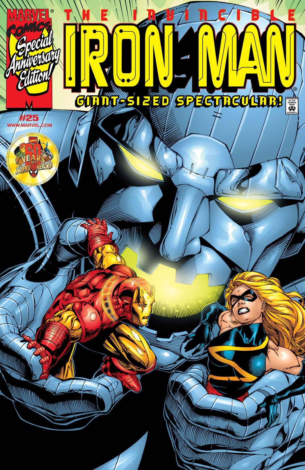 Iron Man (1998-2004) #25