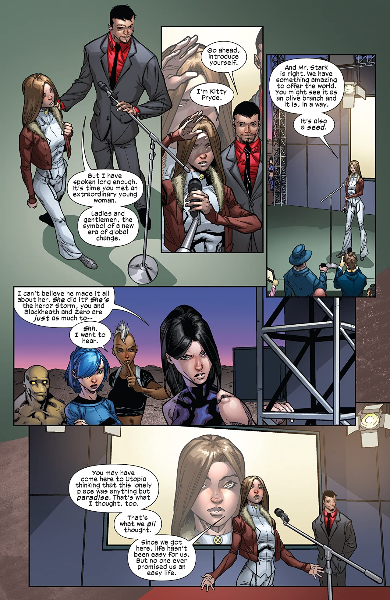 Ultimate Comics X-Men #21