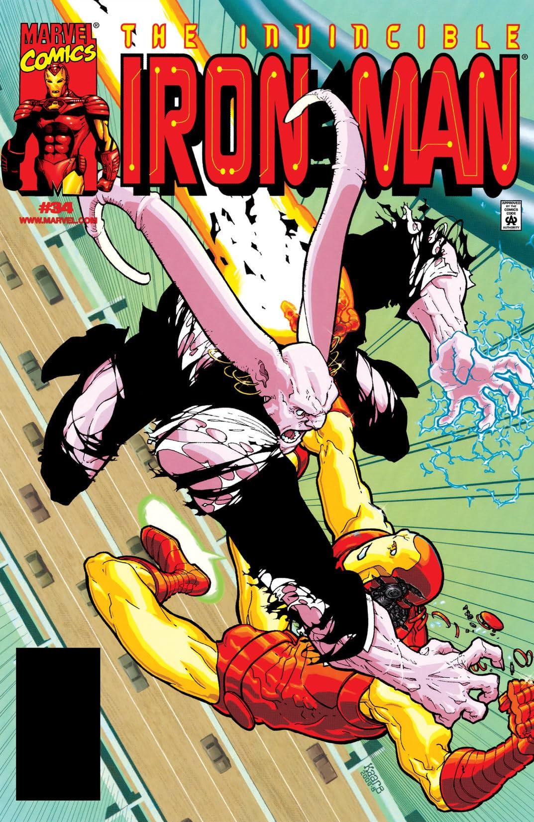 Iron Man (1998-2004) #34