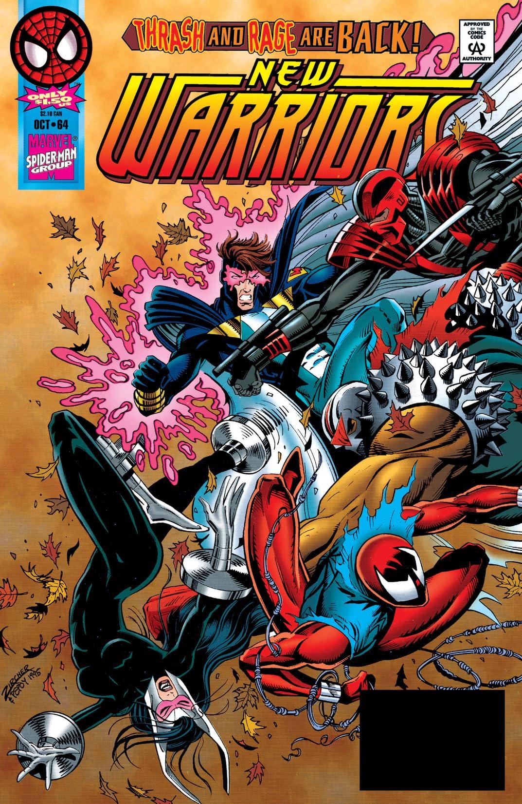 New Warriors (1990-1996) #64