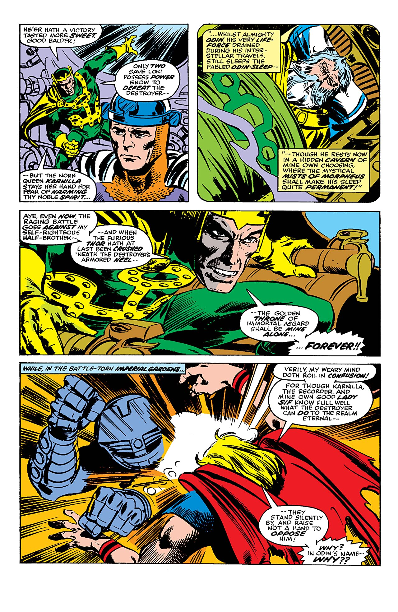 Thor (1966-1996) #266