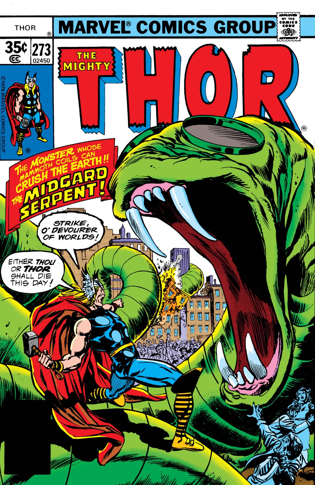 Thor (1966-1996) #273