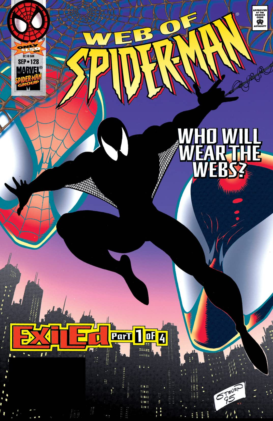 Web of Spider-Man (1985-1995) #128