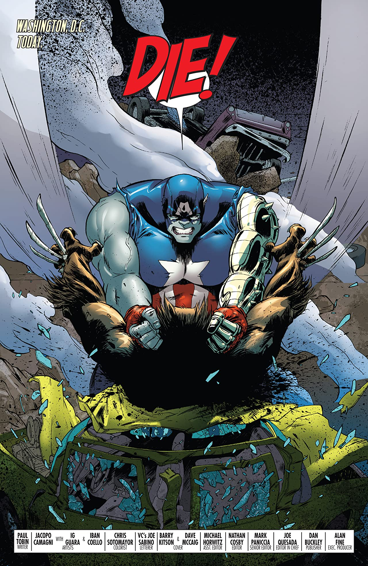 World War Hulks: Wolverine & Captain America (2010) #2 (of 2)