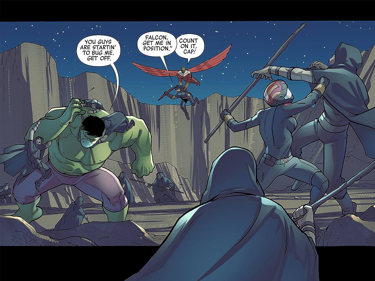 Marvel Universe Avengers Infinite Comic #6