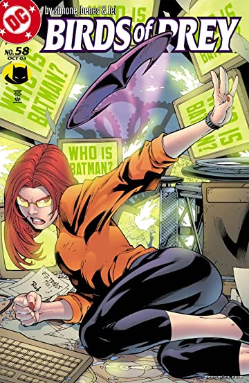 Birds of Prey (1999-2009) #58