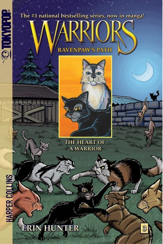 Warriors: Ravenpaw's Path Vol. 3: The Heart of a Warrior