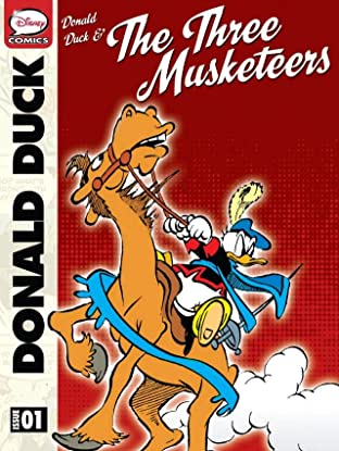 Donald Duck and the Three Musketeers #1